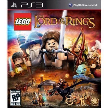 LEGO THE LORD OF THE RINGS USADO (PS3)