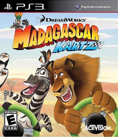 PS3 Madagascar Kartz (usado)