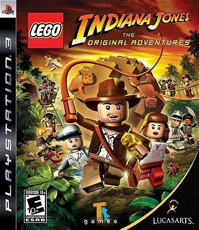 Lego Indiana Jones: The Original Adventures - PS3 (usado)