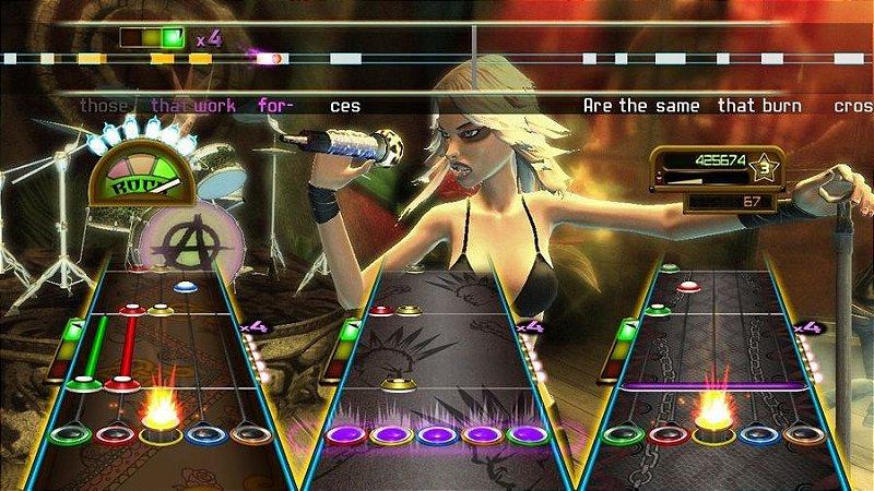 GUITAR HERO - SMASH HITS USADO (PS3)