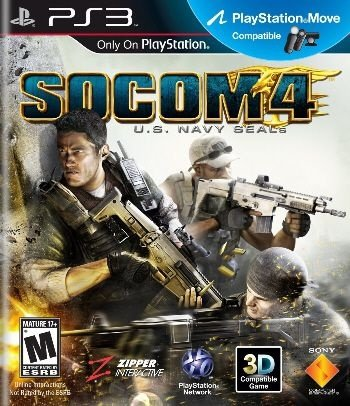 Socom 4: U.S. Navy Seals - PS3 (usado)