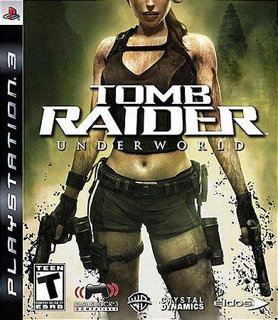 Tomb Raider: Underworld - PS3 (usado)