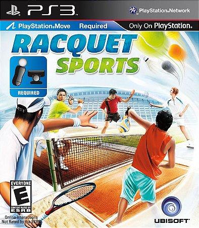 Racquet Sports - PS3 (usado)