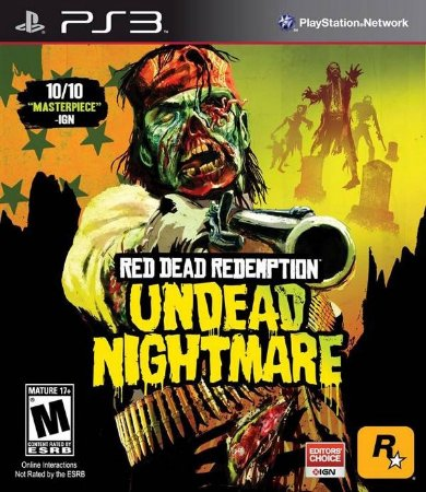 PS3 Red Dead Redemption - Undead Nightmare (usado)