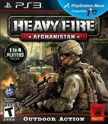 PS3 Heavy Fire - Afghanistan (usado)