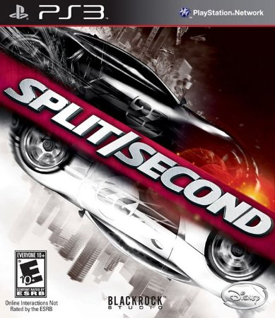 Split Second - PS3 (usado)