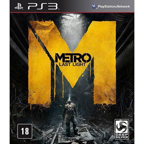 Metro: Last Light - PS3 (usado)