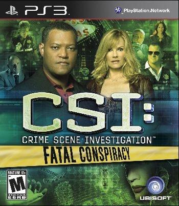 CSI: Fatal Conspiracy - PS3 (usado)