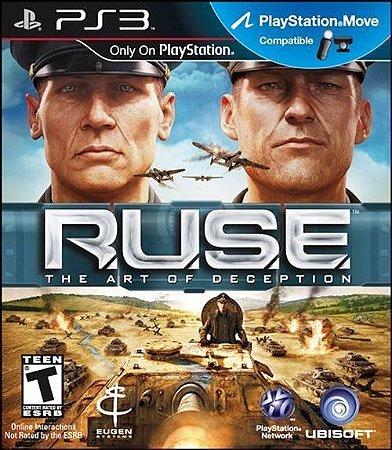 PS3 Ruse - The Art of Deception (usado)