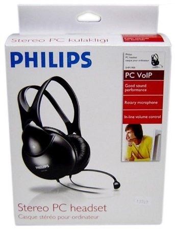 FONE HEADSET PHILIPS STEREO PC SHM1900