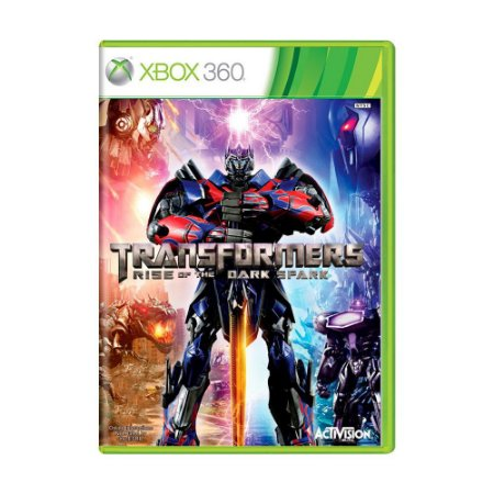 Transformers: Rise of The Dark Spark - Xbox 360 (usado)