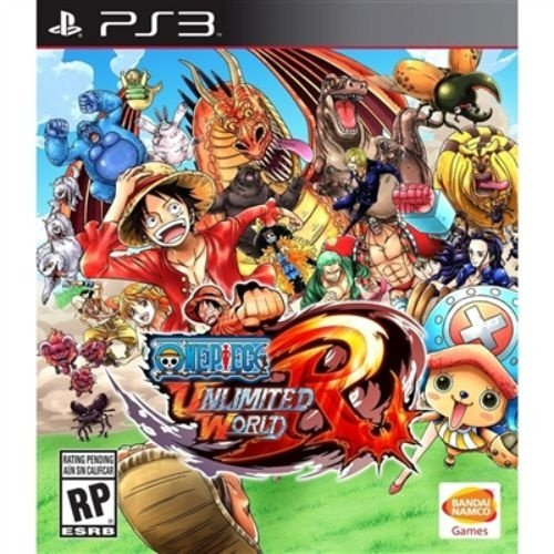 PS3 One Piece Unlimited World Red (usado)