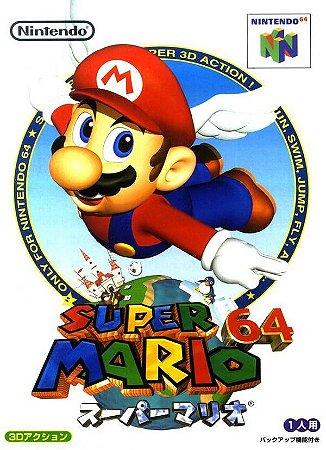 N64 Super Mario 64 (usado/japones)