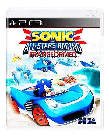 Sonic e All Star Racing: Transformed - PS3 (usado)