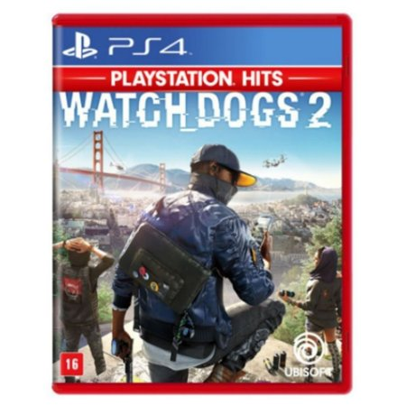 Watch Dogs 2 Hits - PS4 (usado)