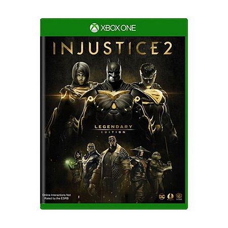 Injustice 2: Legendary Edition - Xbox One (usado)