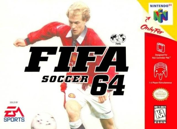 N64 Fifa Soccer 64 (usado)