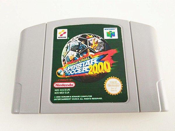 International Super Star Soccer 2000 - N64 (usado)