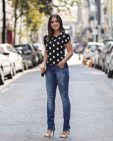 Calça Jeans Skinny - Camy