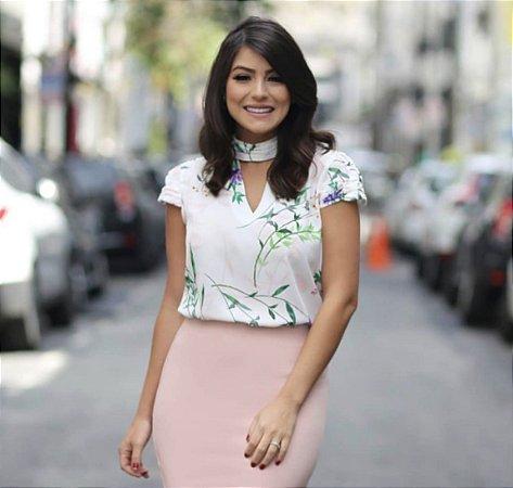 Blusa Floral - Michele