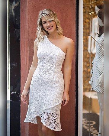 Vestido Renda Pérolas Ariane