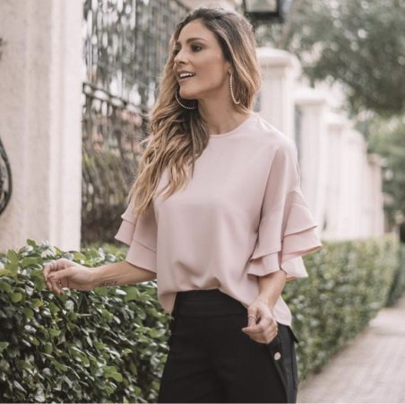 Blusa Crepe - Louise