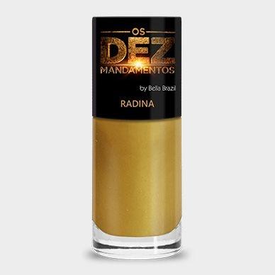 Esmalte Os Dez Mandamentos Radina - 6 unidades