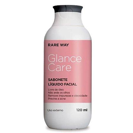 Sabonete Facial Glance Care Rare Way 120ml - 3 Unidades