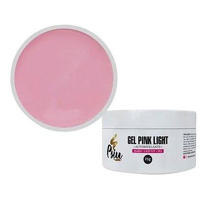 Psiu Gel Hard Led/uv 25g Autonivelante Pink Light - 3 Unidades
