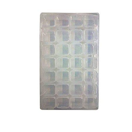 Organizador Porta Comprimidos Medicamentos Vitamina Dieta Pressão Transparente - 3 Unidades