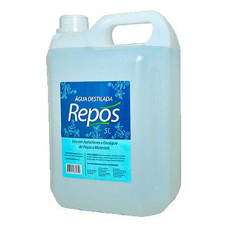 Água Destilada Autoclave para Salão Estética Repós 5 Litros - 3 Unidades
