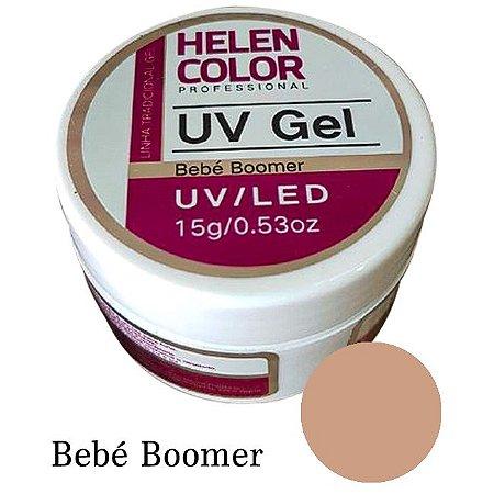 Gel Linha Bebé Boomer  Helen Color Uv Led Unha Acrygel 15g - 3 Unidades