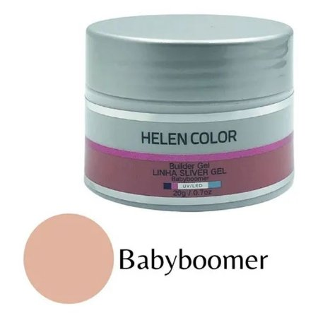 Gel Para Unhas de Gel Helen Color Silver Babyboomer 20g - 3 Unidades