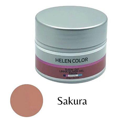 Gel Para Unhas De Gel Helen Color Silver Sakura 20g - 3 Unidades