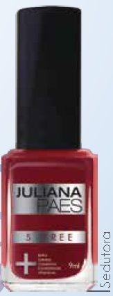 Esmalte Juliana Paes 5 Free Sedutora (caixa com 6)