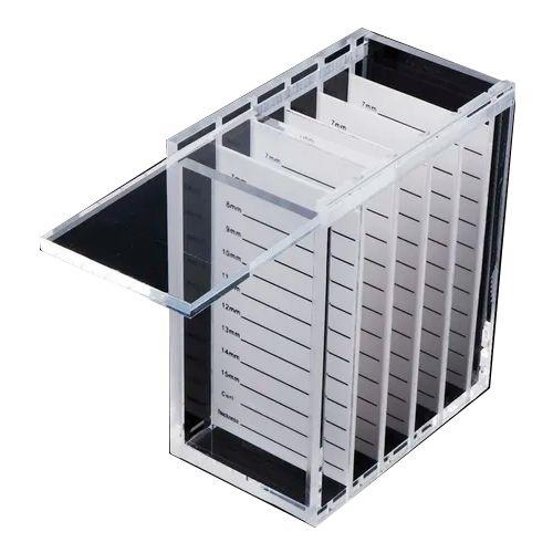 Organizador Porta Cílios de Acrílico - 3 Unidades