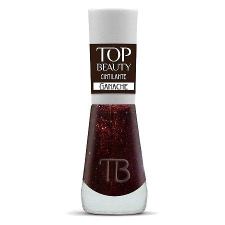 Esmalte Premium Cremoso Top Beauty 9ml Ganache - 6 Unidade