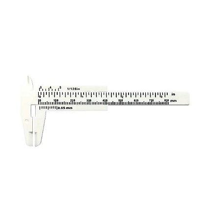 Paquímetro Profissional Pequeno para Designer de Sobrancelha e Micropigmentação - 3 Unidades