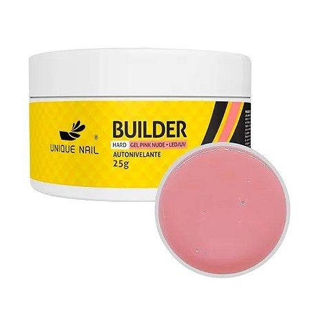 Gel Hard Builder Pink Nude Unique Nail 25g - 3 Unidades