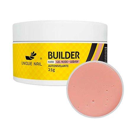 Gel Hard Builder Nude Unique Nail 25g - 3 Unidades