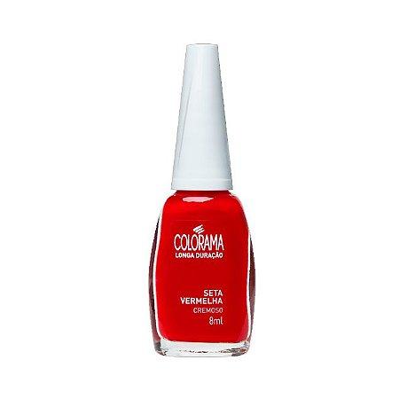 Esmalte Colorama Seta Vermelha 8ml - 6 Unidades