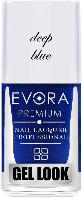 Esmalte Évora Premium Gel Look Deep Blue (Caixa com 6)