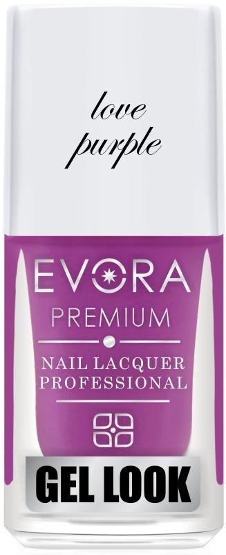 Esmalte Évora Premium Gel Look LOVE PURPLE (Caixa com 6)