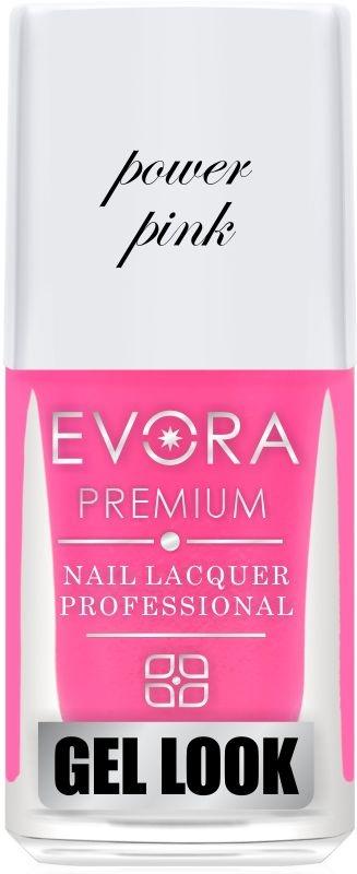 Esmalte Évora Premium Gel Look Lábios Power Pink (Caixa com 6)