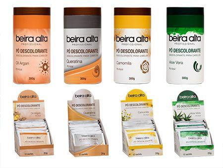 Pó Descolorante Beira Alta 300 Gramas (Caixa Com 3 ) Disponível Camomila e Aloe e Vera