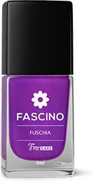 Esmalte Fascino 3 Free Fuschia Caixa Com 6
