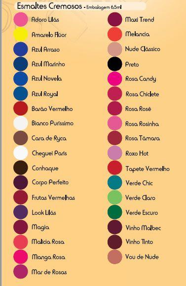 Esmalte Fusion Vinho Tinto (Caixa Com 12)