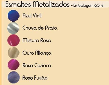 Esmalte Fusion Mistura Rosa (Caixa Com 12)