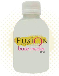 Base Incolor Fusion Rápida Secagem,Forma uma Camada fina Auxiliando na Fixação (Caixa Com 6)