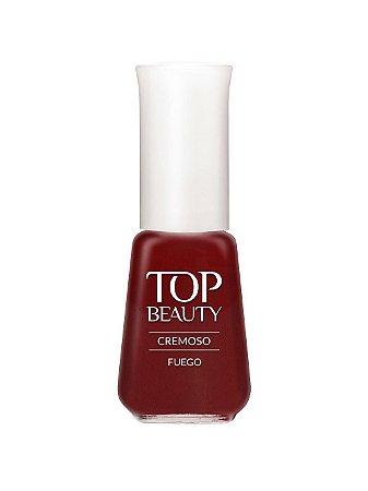 Esmalte Top Beauty Cremoso Fuego - 6 unidades